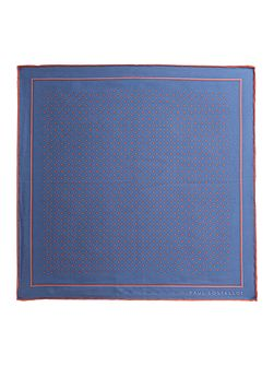 Somerset Spot Silk Pocket Square