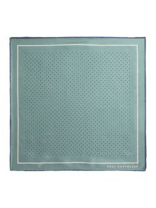 Paul Costelloe Somerset Spot Silk Pocket Square