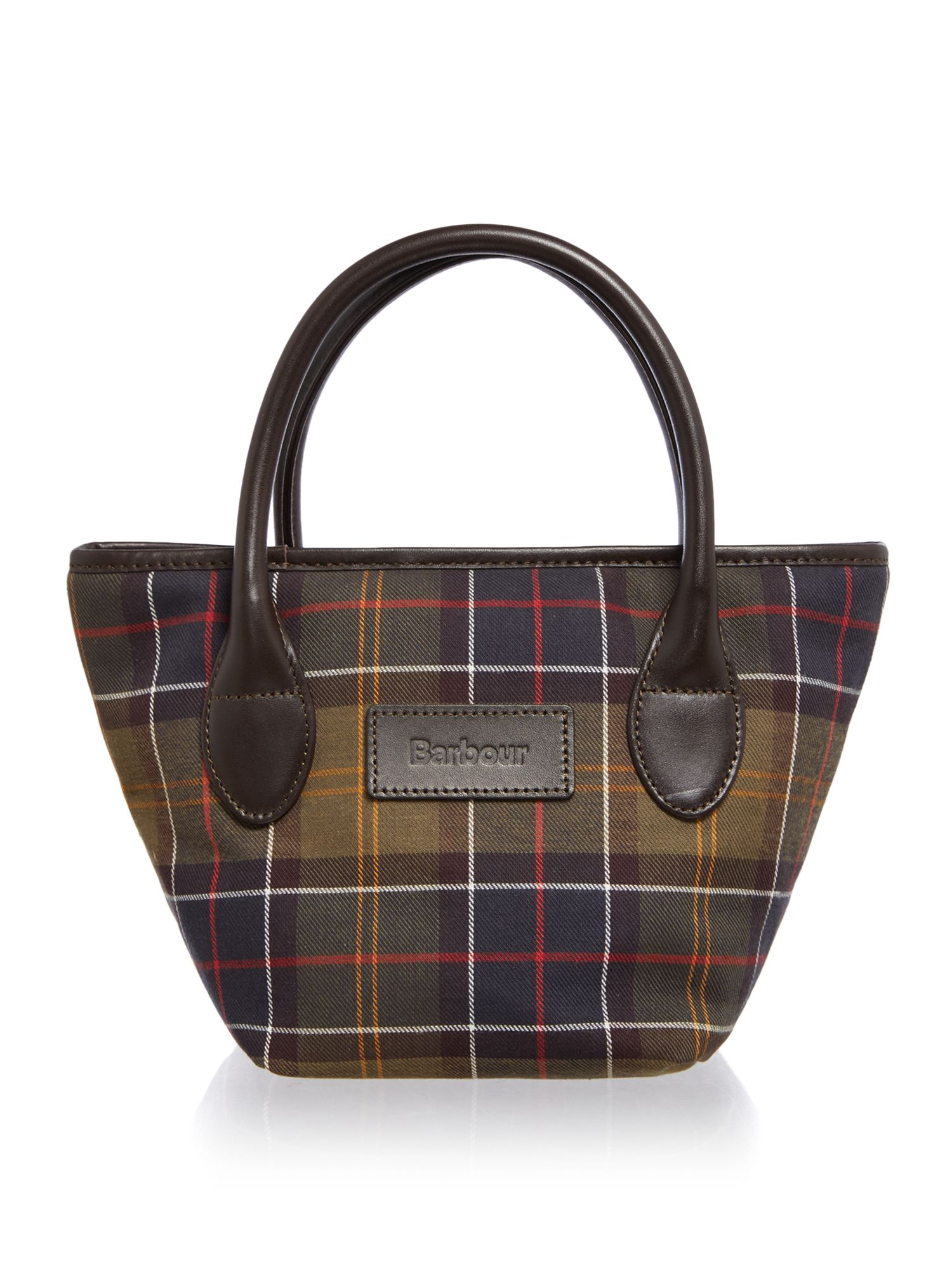 Barbour classic tartan tote bag review for Quality classic house of fraser