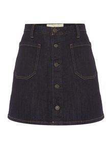 Denim and Supply Ralph Lauren Carstens denim button up skirt