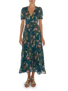 Denim and Supply Ralph Lauren Wrap tie maxi dress