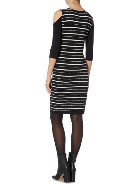 Therapy Albany Broken Stripe Bodycon Dress