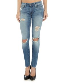 Denim and Supply Ralph Lauren Skinny D&S Kayla 32 ripped jean