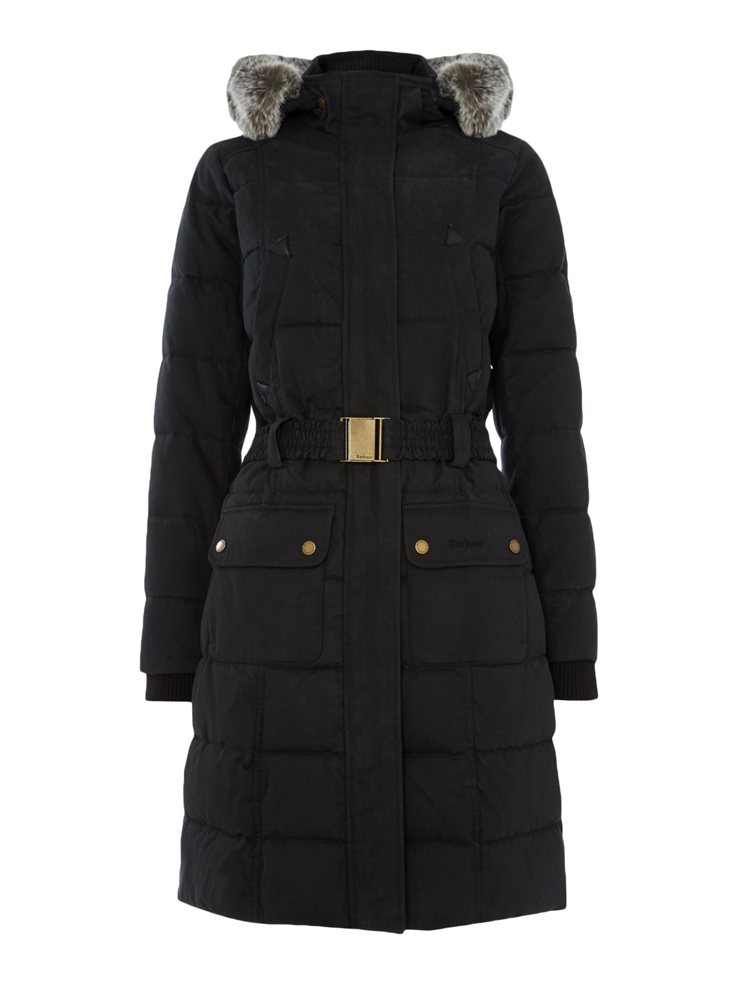 Barbour Barbour belton quilt exclusive, Black