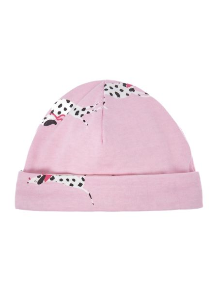Joules Girls reversible beanie hat