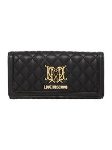Love Moschino Superquilt flap over purse