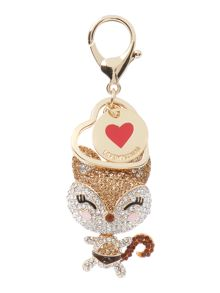 Love Moschino Cat keyring