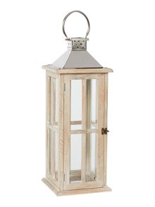 Junipa Wooden Lantern large