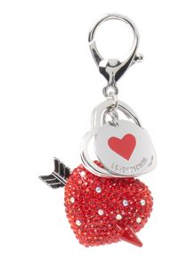 Love Moschino Heart keyring