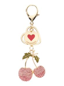 Love Moschino Cherry keyring