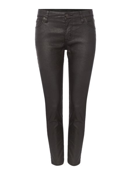 Denim and Supply Ralph Lauren Irving waxed cotton cropped skinny