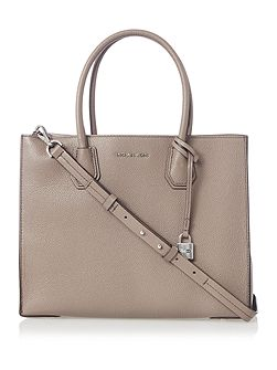 Mercer taupe large tote bag