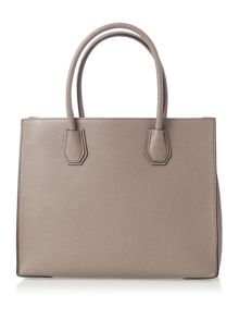 Michael Kors Mercer taupe large tote bag