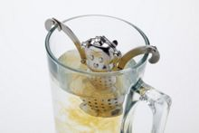Kitchen Craft Stainless steel novelty monkey tea infuser