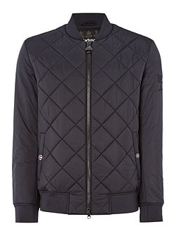 Steve McQueen quilted bomber jacket