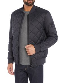 Barbour Steve McQueen quilted bomber jacket