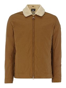 Steve McQueen fleece collar coat