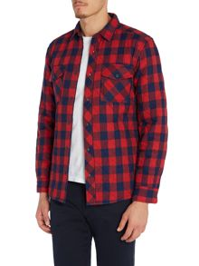 Barbour Steve McQueen nitro checked overshirt