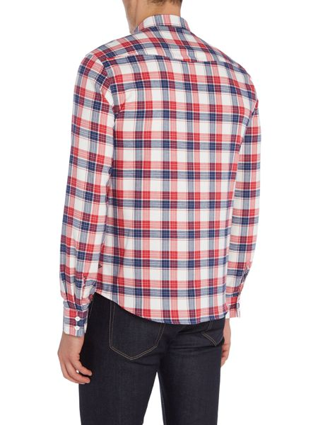Barbour Steve McQueen Hairpin checked long sleeve shirt