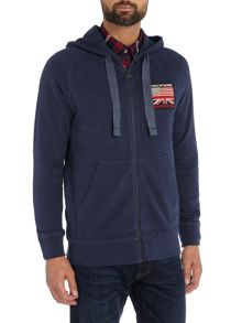 Barbour Steve McQueen draft zip through hoodie