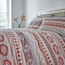 Linea Mirage kilim duvet cover set