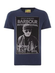Barbour Steve McQueen apex crew neck t-shirt