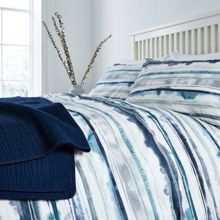 Linea Blake digital print duvet cover set