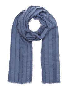 Maison De Nimes Madison torn denim scarf