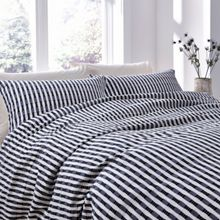 Linea Hugo jacquard duvet cover set
