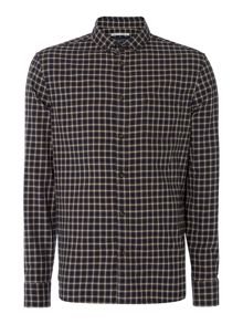 Criminal Pine Check Long Sleeve Shirt
