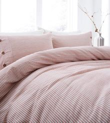 Linea Anderson stripe duvet cover set