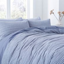 Linea Wentworth stripe duvet cover set