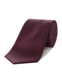 Howick Tailored Cove Geo Design Silk Tie