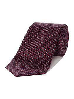 Cove Geo Design Silk Tie