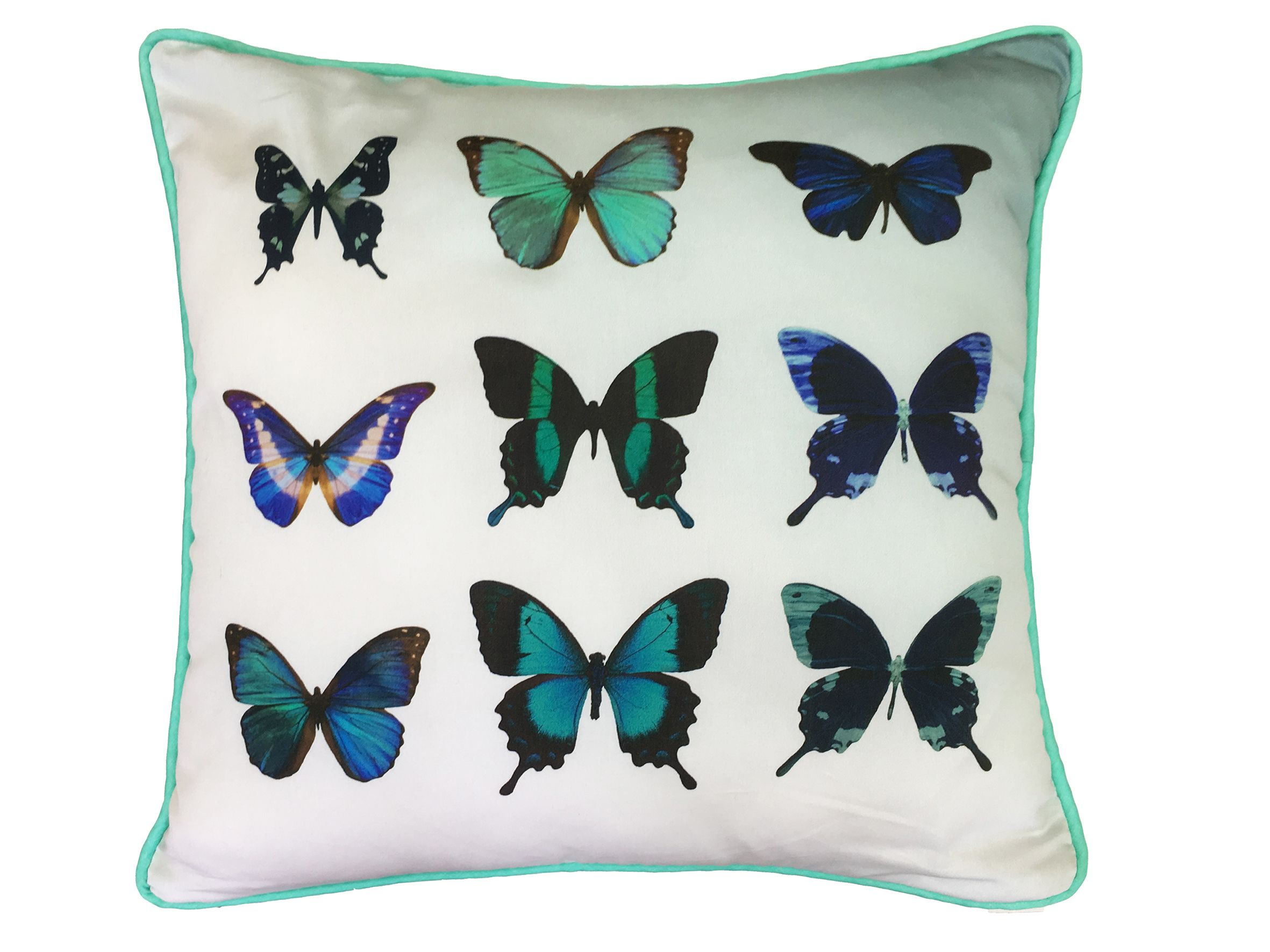 Image of Ted Baker Butterfly collective 45x45 feather filled cushion