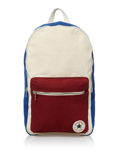 Converse Block Panel Canvas Backpack