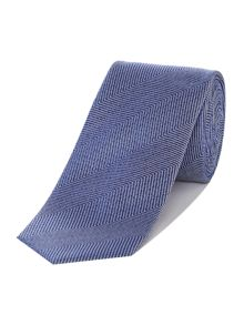 Kenneth Cole Chelsea Jumbo Herringbone Silk Tie
