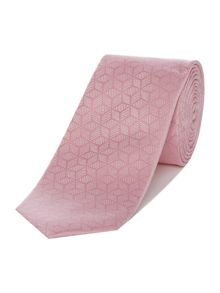 Kenneth Cole Link Star Geo Silk Tie