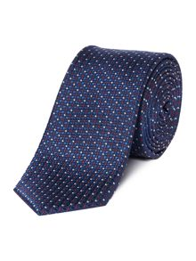 Kenneth Cole Standard Multi Pin Dot Silk Tie