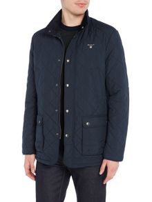 Gant Zip-Through Quilted Jacket