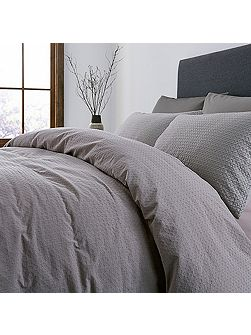 Diamond washed waffle pillowcase pair