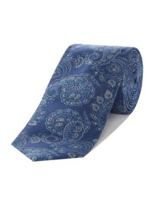 Turner & Sanderson Court Ribbed Paisley Silk Tie