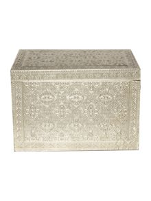 Junipa Silver large cladded box