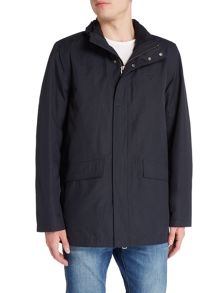 Gant Removable-Fleece Cotton-Blend Coat