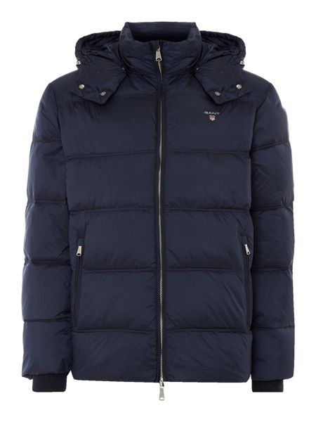Gant Quilted Hooded Jacket