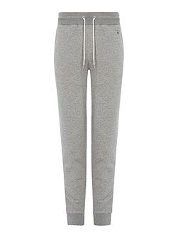 Cotton-Blend Cuff-Leg Tracksuit Bottoms