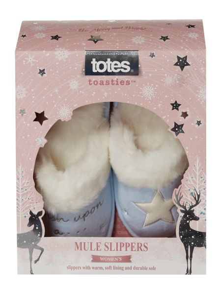 Totes Wish upon a star slippers