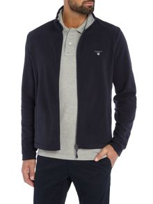 Gant Fleece Zip-Through Jumper