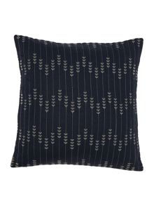 Dickins & Jones Emily leaf embroidered cushion