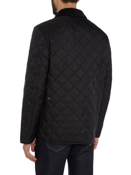 Barbour Tinford quilted chest patch pocket coat